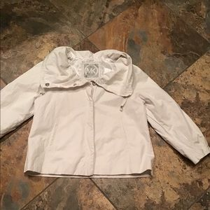 Michael Kors short white jacket